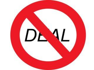 Thursday, November 1, 2018: Dealbreakers